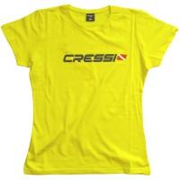 Cressi Camiseta CRESSI TEAM MUJER