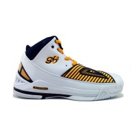 Zapatillas de Baloncesto Peak George Hill 3 BLANCO/AMARILLO/AZUL MARINO