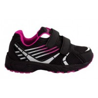 Zapatillas running Softee RAPID 24 NEGRO/FUCSIA