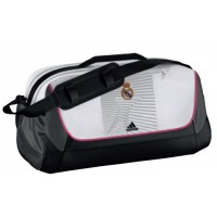 Bolsa Adidas Real MADRID Negro/Blanco