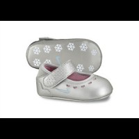 Zapatillas NIKE Mary Jane Crib 1C Mtllc Slvr